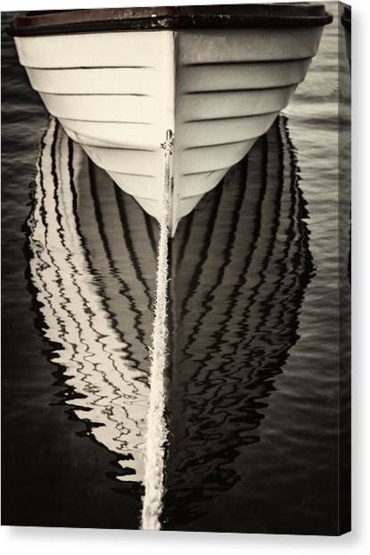 Boat Mirrored Canvas Print