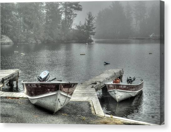 Boat Rental Canvas Print
