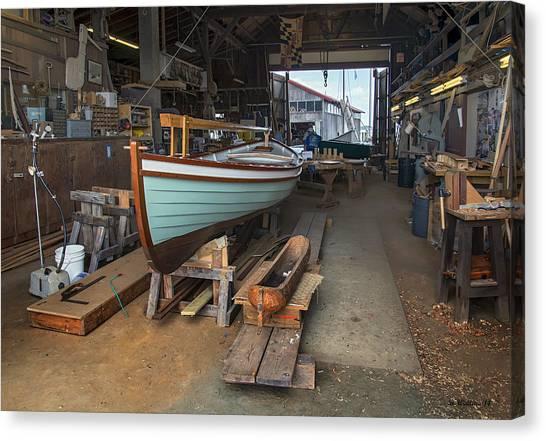 Boat Shop Canvas Print