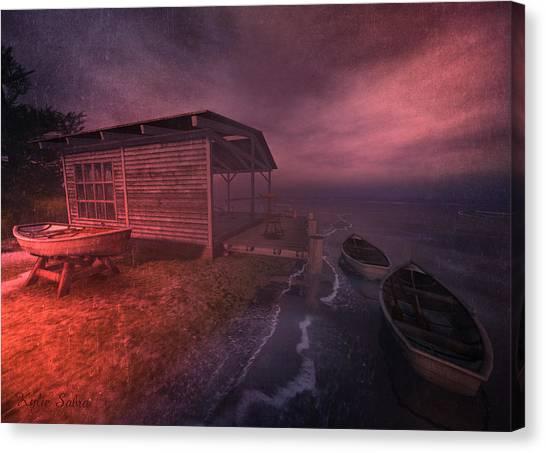Boathouse Canvas Print