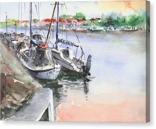 Boats Inshore Canvas Print