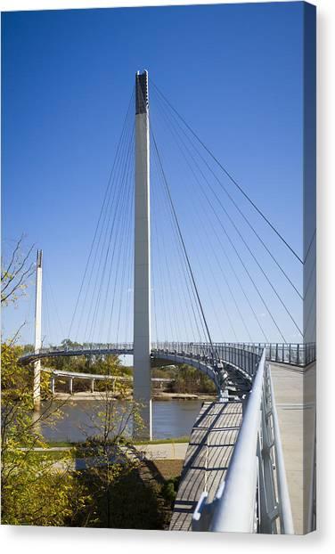 Bob Kerrey Pedestrian Bridge Canvas Print