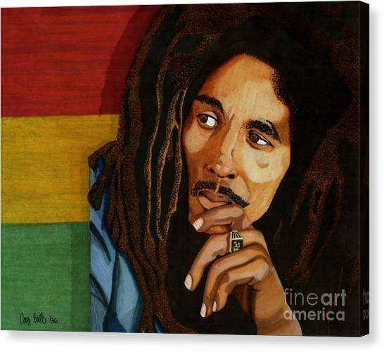 Bob Marley Legend Canvas Print
