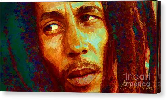 Bob Marley One And Only Canvas Print