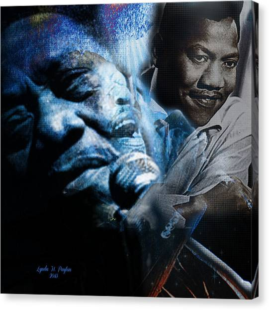 Bobby Blue Bland Canvas Print