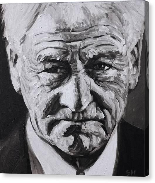 Bobby Robson Canvas Print