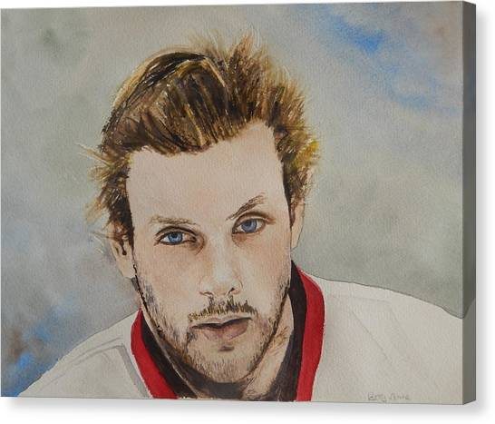 Ottawa Senators Canvas Print - Bobby Ryan by Betty-Anne McDonald