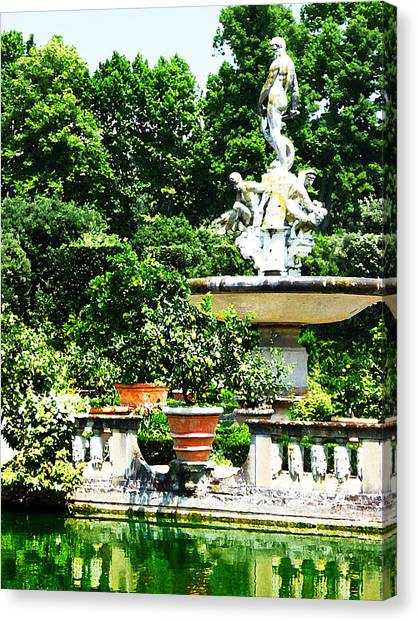 Boboli Gardens Canvas Prints | Fine Art America