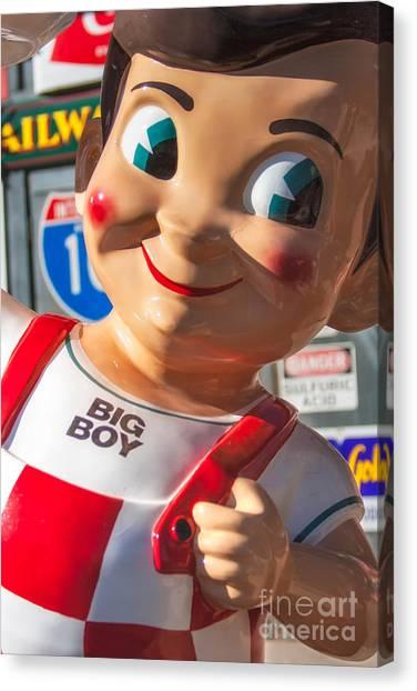 Bob's Big Boy Canvas Print