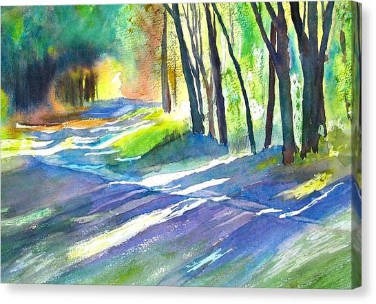 Bobs Road Canvas Print