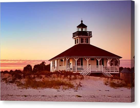 Boca Grande Lighthouse - Florida Canvas Print