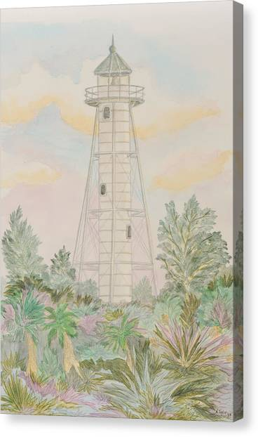 Boca Grande Lighthouse Canvas Print