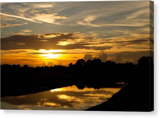 Canvas Print - Boca Sunset by Fizzy Image