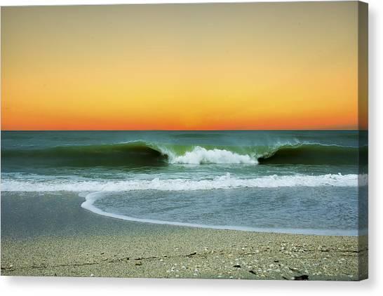 Boca Sunset Canvas Print