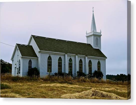 Bodega Church Canvas Print