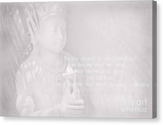 Bodhisattva Canvas Print