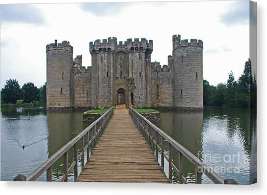Bodiam Castle Canvas Print