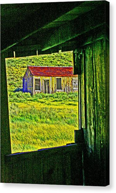 Bodie Ca From My Window Canvas Print