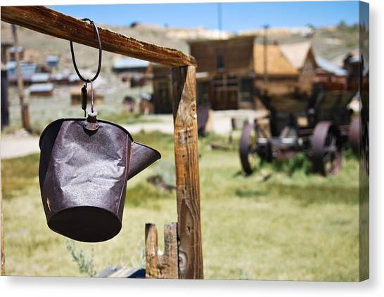 Bodie Ghost Town 2 - Old West Canvas Print