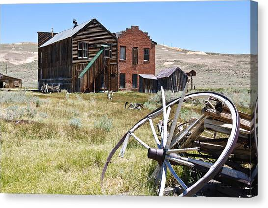 Bodie Ghost Town 3 - Old West Canvas Print