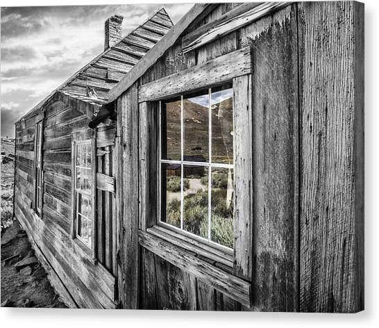 Bodie Gold Mining Ghost Town Canvas Print
