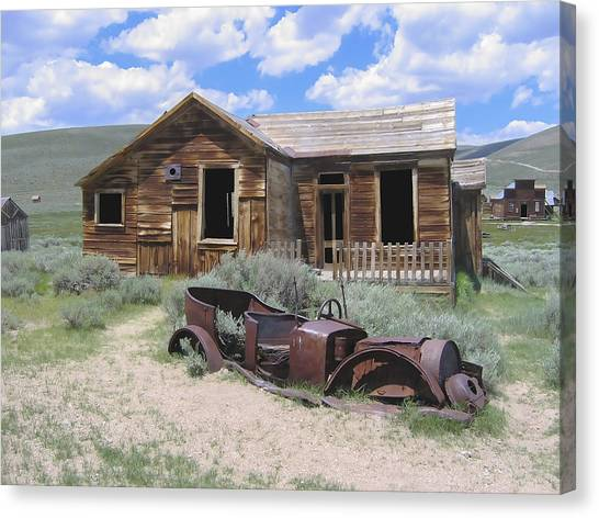 Bodie House Canvas Print