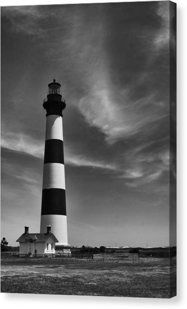 Bodie Island Light Canvas Print