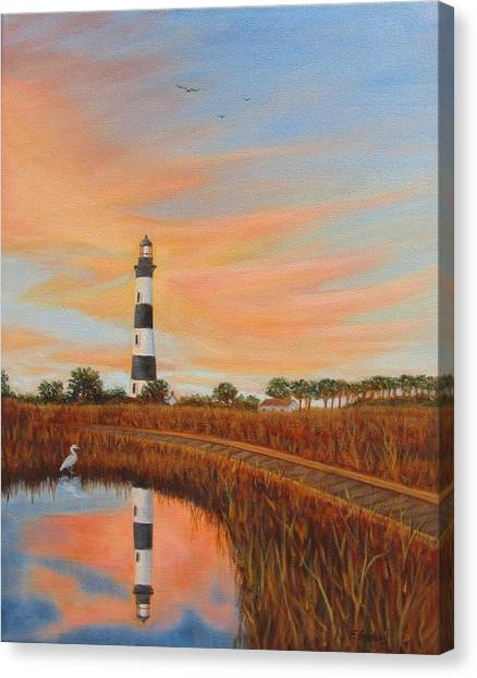 Bodie Island Lighthouse Canvas Print