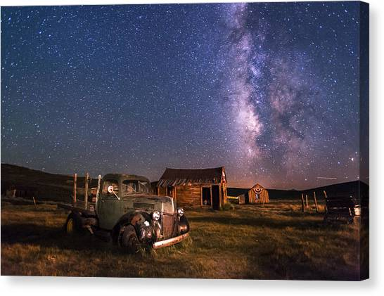 Bodie Nights Canvas Print