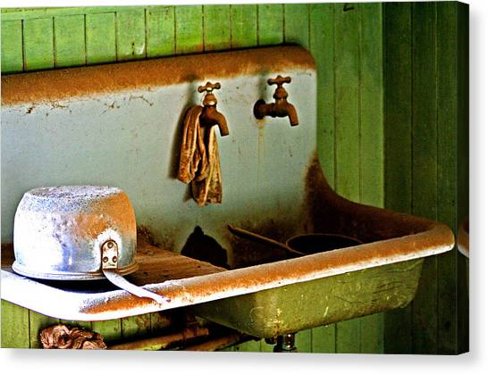 Bodie Water Fixtures Canvas Print