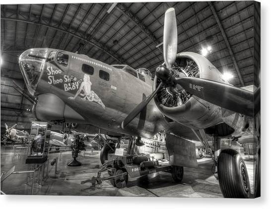 Boeing B-17 Bomber Canvas Print