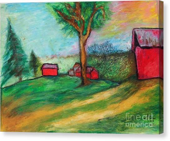 Boerjan's Farm Canvas Print