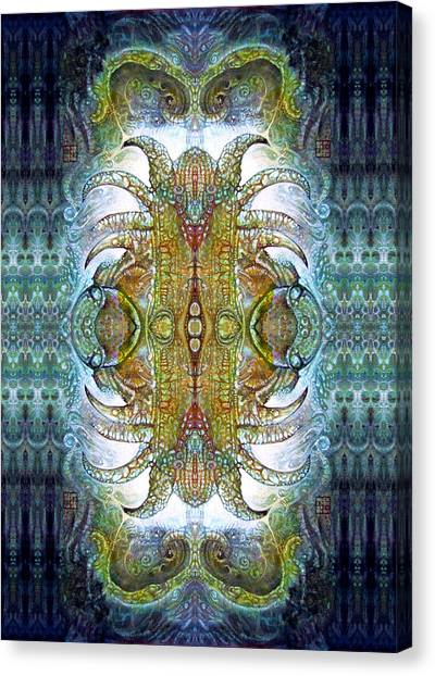 Bogomil Variation 14 - Otto Rapp And Michael Wolik Canvas Print