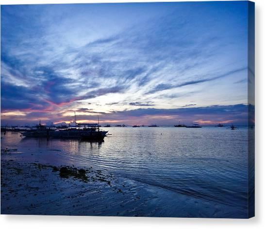 Bohol Sunrise Canvas Print