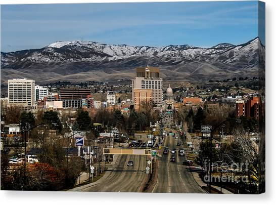 Sublime Canvas Print - Boise Idaho by Robert Bales