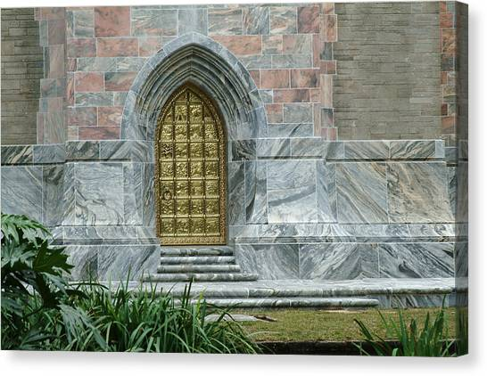 Bok Tower Entrance Canvas Print