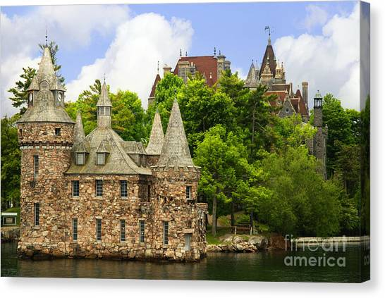 Boldt Castle Canvas Print