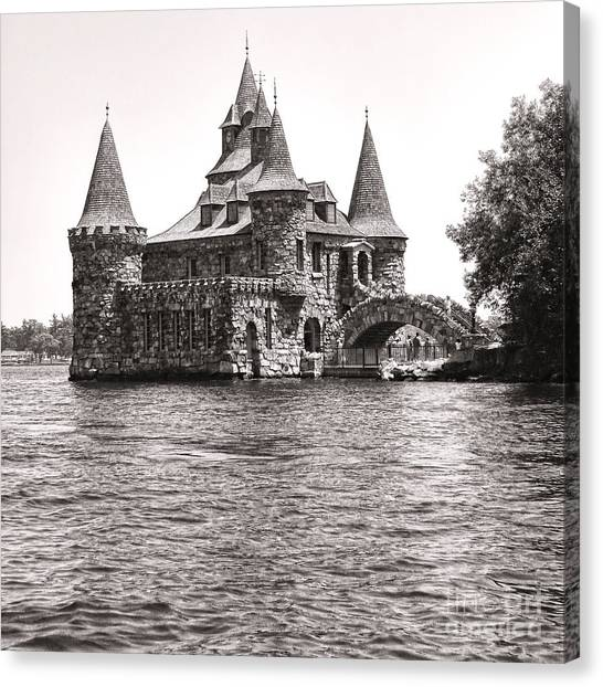 Boldt Castle Canvas Print - Boldt Castle Power House by Olivier Le Queinec
