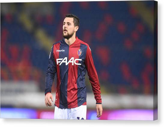 Bologna Fc V Atalanta Bc - Serie A Canvas Print by Mario Carlini / Iguana Press
