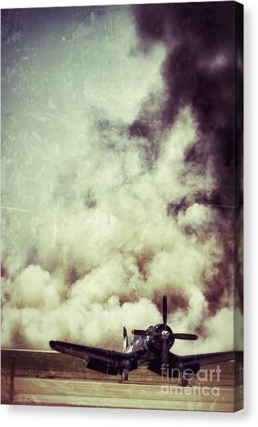 Bomb Run Canvas Print