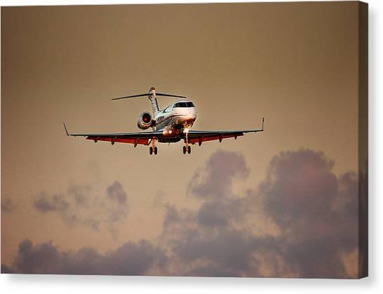 Bombardier Bd100 Canvas Print