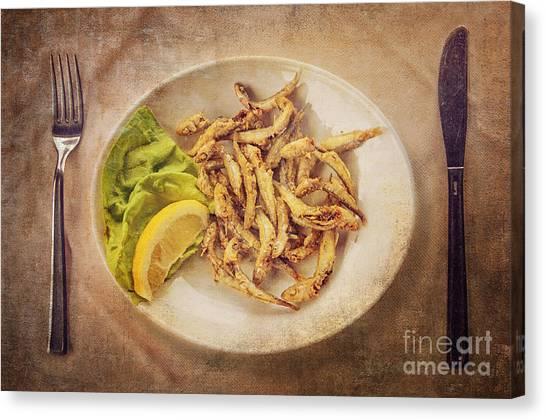 Mayonnaise Canvas Print - Bon Appetite by Danilo Piccioni