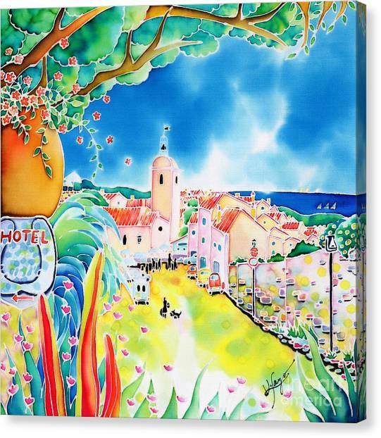 Bon Dimanche Canvas Print