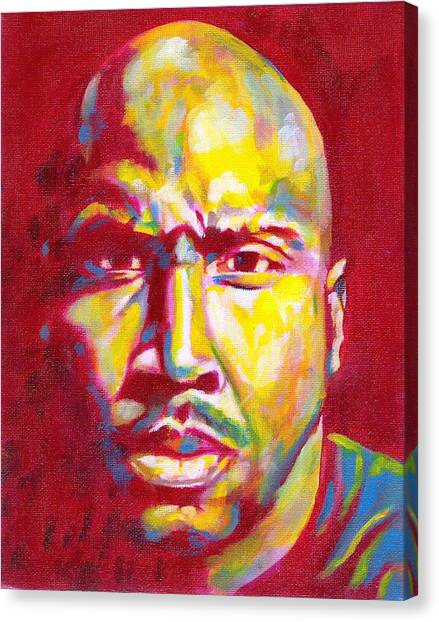 Barry Bonds Canvas Print - Bonds On Fire by Paul Smutylo
