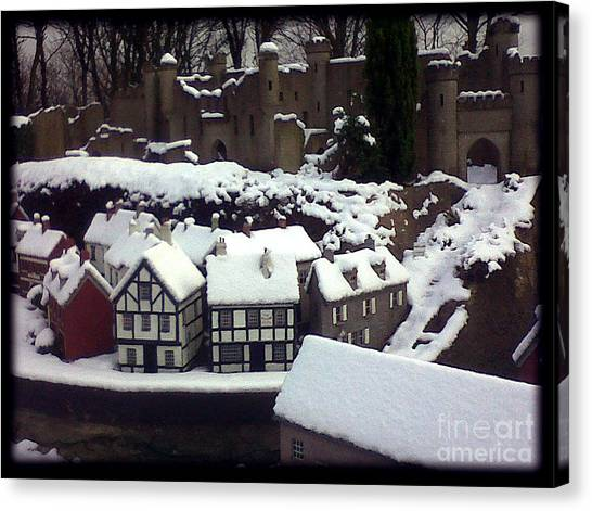 Bondville Model Village Canvas Print by Merice Ewart