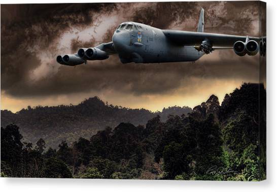 Cold War Canvas Print - Bone Shaker by Peter Chilelli