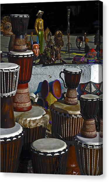 Bongos Canvas Print - Bongos Bango And Things by Camille Lopez