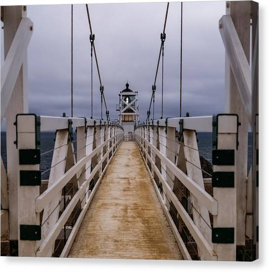 Bonita Point Lighthouse Canvas Print