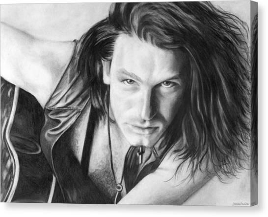 Bono Canvas Print