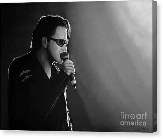 U2 Canvas Print - Bono by Meijering Manupix